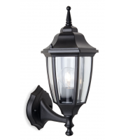 Firstlight Faro Outdoor Wall Lantern (Black)