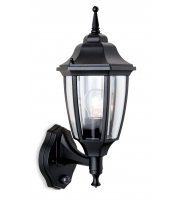 Firstlight Faro Wall Lantern with PIR (Black)