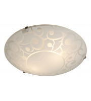 Firstlight Coral Flush Fitting (Opal Glass)