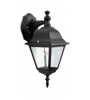 Firstlight 4 Panel Lantern Downlight (Black)