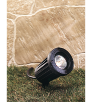 Firstlight GU10 Spike Spotlight (Black)