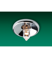 Firstlight Low Voltage Mini Halo Recessed Downlight (Chrome)
