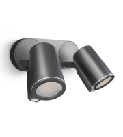 STEINEL Xled Spot Connect Duo Anthracite (Aluminium)