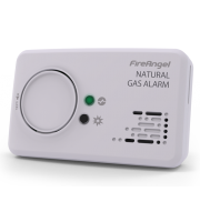 FireAngel Sealed Battery Natural Gas Alarm (Matt White)