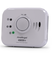 FireAngel 10 Yr Battery Co Alarm With Wireless Wisafe2 Interlink (White)
