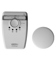 FireAngel Low Frequency Sounder With Wireless Wisafe2 Interlink (white)