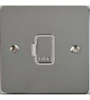 Scheider Electric Ufp 13A Unswitched Fused Connection Unit (Polished Chrome)