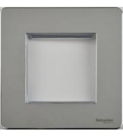 Scheider Electric Usfp Polished Chrome 2 Euro Modular Plate
