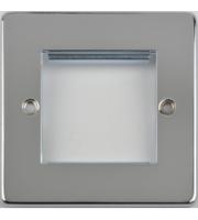 Scheider Electric Ulp Polished Chrome 2 Euro Modular Plate