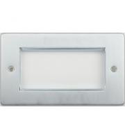 Scheider Electric Ulp Brushed Chrome 4 Euro Modular Plate