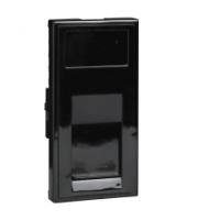 Scheider Electric Euro Module Black RJ11 Modem - 25 X 50mm