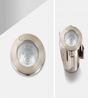 Collingwood 3W Low Profile LED Ground Light (Stainless Steel)