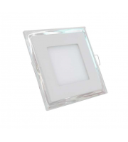 Gap Lighting Retro 10W Square Fixed Colour White With White Halo Led Downlight