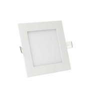 Gap Lighting Polar 12W Square White 6000K Dimmable Recessed Led Panel Downlight