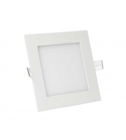 Gap Lighting Polar 12W Square Warmwhite 3000K Dimmable Recessed Led Panel Downlight
