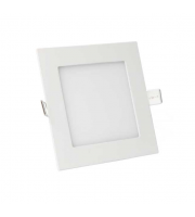 Gap Lighting Polar 18W Square White 6000K Dimmable Recessed Led Panel Downlight