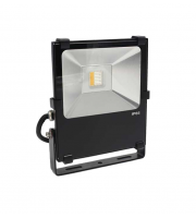Gap Lighting 10W Rgb With White 6000K Black Die Cast Aluminium Led Floodlight