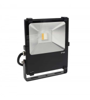 Gap Lighting 10W Rgb With Warmwhite 3000K Black Die Cast Aluminium Led Floodlight