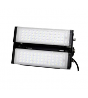 Gap Lighting Axis 140W Black Die Cast Aluminium 6000K Double Unit Led Floodlight