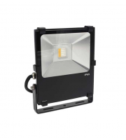Gap Lighting 50W Rgb With White 6000K Black Die Cast Aluminium Led Floodlight