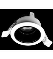 Collingwood Downlight Housing Adjustable With Black Tube Attachment(White)