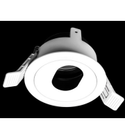 Collingwood Downlight Housing, Adjustable With Oval Hole Attachment