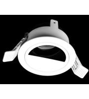 Collingwood Downlight Housing Adjustable With Semi Circle Attachment(White)