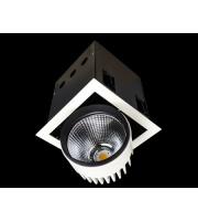 Collingwood White Recessed Square Single Source Led Module 32W