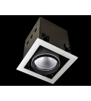 Collingwood White Single Source Led Module Recessed Square 26W(White)