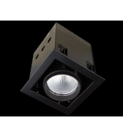 Collingwood White Single Source Led Module Recessed Square 26W