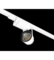 Collingwood Black Track Mounted Luminaire 31W(White)