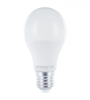Integral 13 Non Dimmable Globe Frosted LED Lamp (Very Warm White)