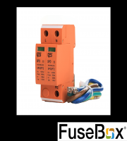 Fusebox SPD2PTN Tn T2 Spd (inc 3 Cables) (Orange)