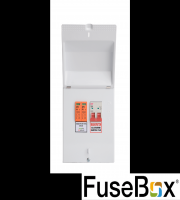 Fusebox Main Switch And Spd T2 (White)