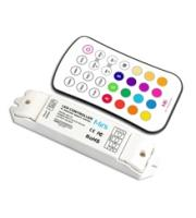 Integral RF Wireless RGB Receiver and Remote Control (White)