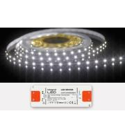 Integral IP33 5M Flexible LED Strip 12V Constant Voltage (Cool White)