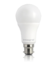 Integral 8.5W Classic Globe B22 Dimmable LED Lamp (Warm White)