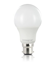 Integral Classic Globe 8.5W B22 Non Dimmable LED Lamp (Warm White)