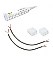 Integral IP67 Strip Light Accessory Kit (White)