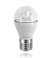 Integral 5.4W E27 Non Dimmable Mini Globe LED Lamp (Warm White)
