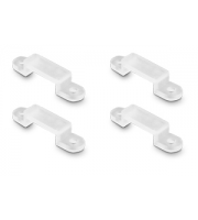 Integral IP67 & IP33 Mounting Support Clip x 25 Pack (Clear)