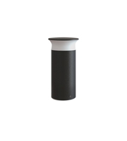 Integral Outdoor Bollard IK08 400MM IP65 420LM 9W 3000K Dark Grey