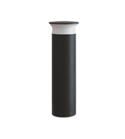 Integral Outdoor Bollard IK08 600MM IP65 420LM 9W 3000K Dark Grey