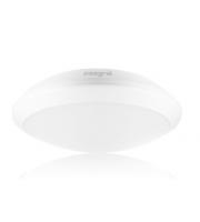 Integral Tough Shell+ Bulkhead Microwave Sensor 308MM Dia IP66 1500LM 15W 4000K IK10 120 Beam Non-dimm White 100LM/W