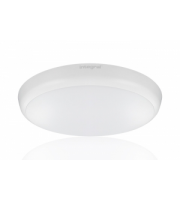 Integral Slimline 12W 4000K LED Bulkhead with 10% Standby Microwave Sensor (White)