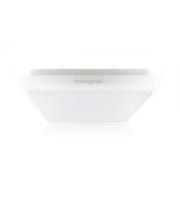 Integral Square 12W 4000K Emergency LED Bulkhead (White)