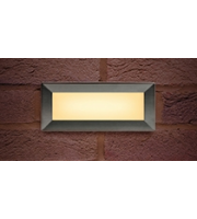 Integral Brick Light Recessed Interchangeable Stainless Steel (316) Bezels