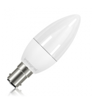 Integral Candle B15 250LM 3.4W Eq. to 25W 2700K Non-dimmable 80CRI 260° (Frosted)