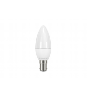 Integral CANDLE BULB B15 250LM 3.4W 2700K NON-DIMM 240 BEAM FROSTED