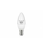 Integral CANDLE BULB B15 250LM 3.4W 2700K NON-DIMM 240 BEAM CLEAR ANGLE